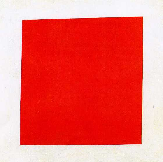 Malevitch, Carré rouge, 1915.