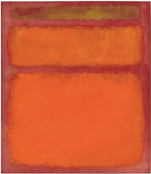 Orange Red Yellow, Mark Rothko