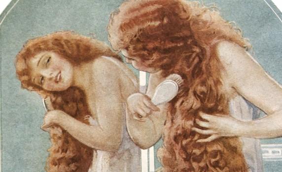 Publicité Watkins Shampoo, Will Grefe, 1919