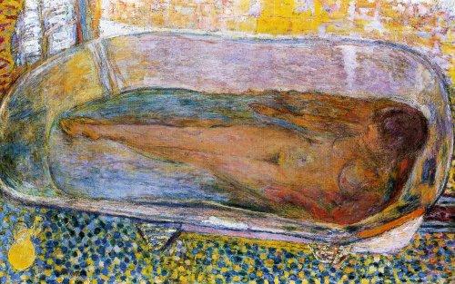 Bonnard, Nu dans la baignoire. Cet homme avait tout compris.